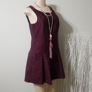 BRAND NEW! FREE PEOPLE EMBROIDERED  DESIGN DRESS!